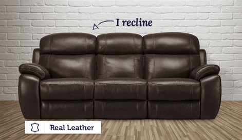 Taranto 3 Seater Electric Recliner