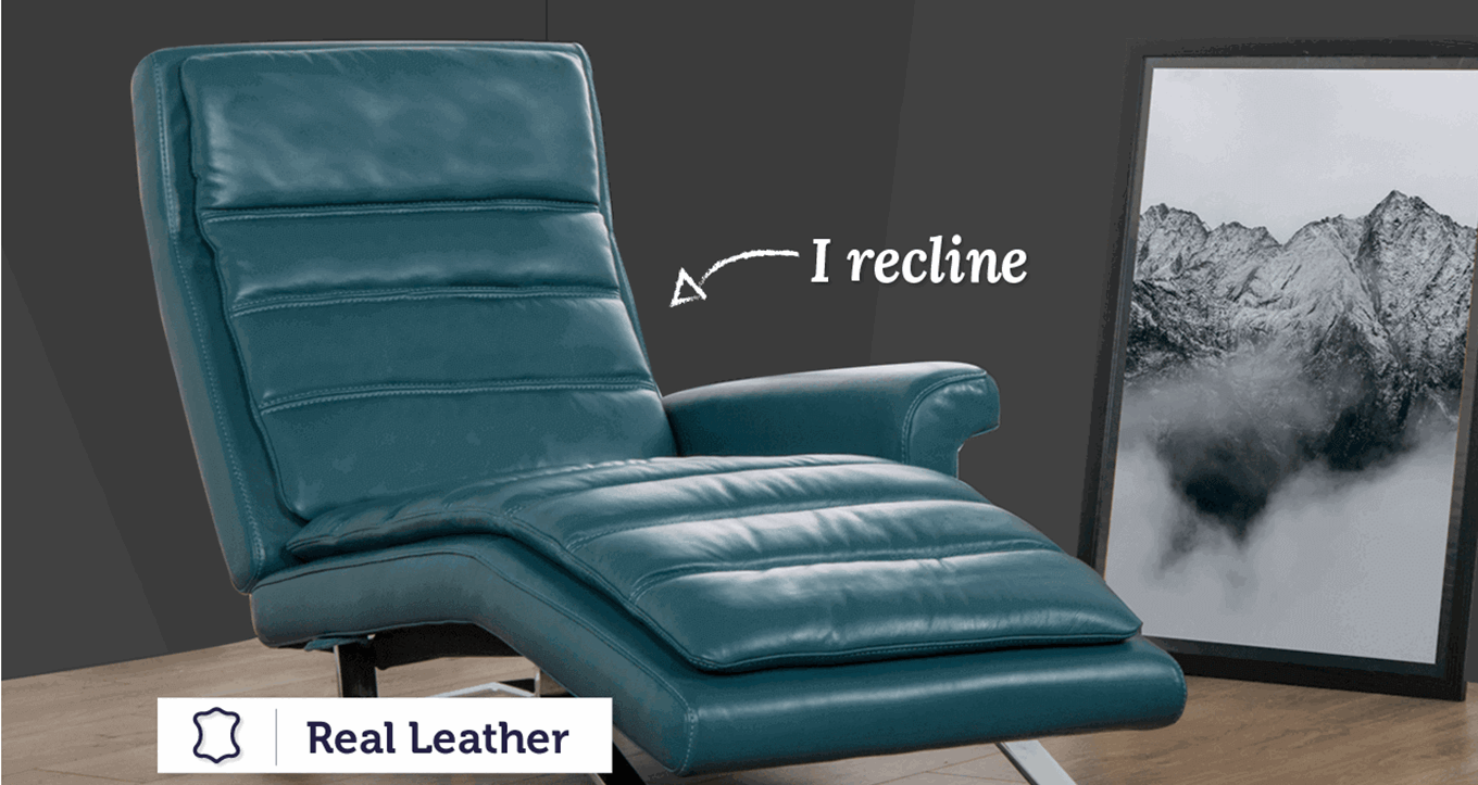 Evita Manual Recliner Chaise