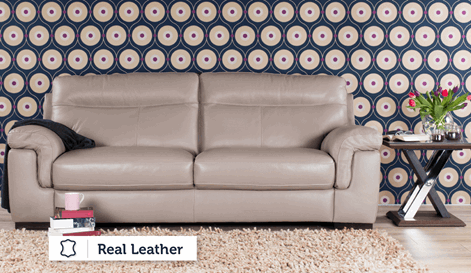 Pecara 3 Seater Sofa