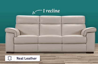 Lanzo 3 Seater Electric Recliner
