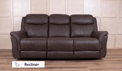Sheldon 3 Seater Manual Recliner