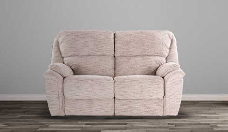 Hudson 2 Seater Manual Recliner